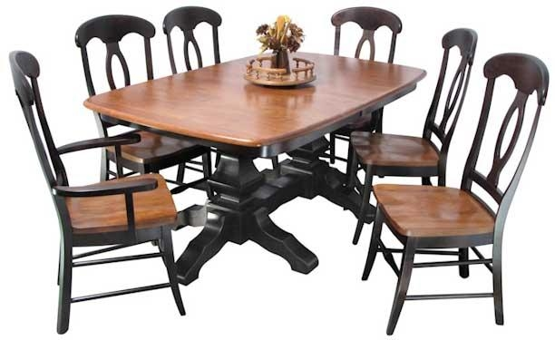 Greene Prairie Woodworks | Dining | Amish Dining Tables | Kingston Within Most Recent Kingston Dining Tables And Chairs (Image 6 of 20)