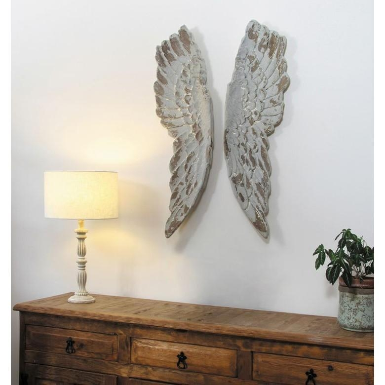 Grey Angel Wings Wall Art – Cotterell & Co (View 20 of 20)