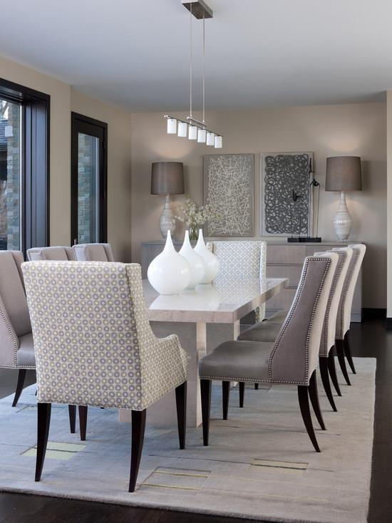 Grey Dining Room Furniture Photo Of Exemplary Chairs Contemporary For Latest Dining Tables Grey Chairs (Image 17 of 20)