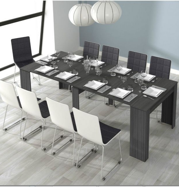 Grey Gloss Dining Table – Table Designs Intended For Grey Gloss Dining Tables (Image 12 of 20)