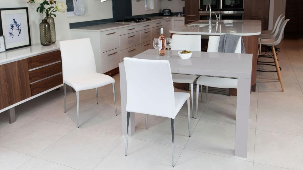 Featured Image of Grey Gloss Dining Tables
