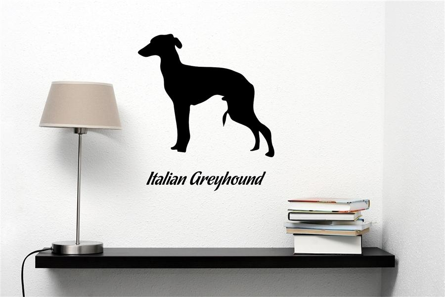 Featured Image of Italian Greyhound Wall Art