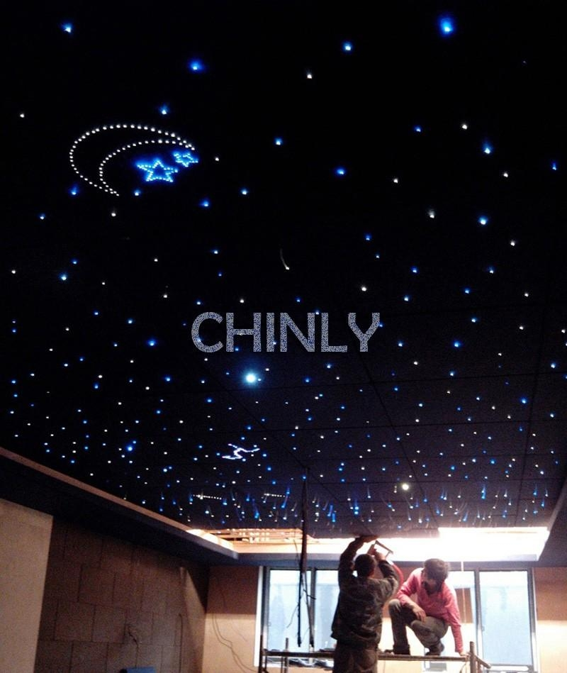 Guangzhou Novelty Led 10W Twinkle Fiber Optic Color Wheel Wall Art With Fiber Optic Wall Art (View 13 of 20)