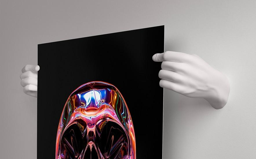 Handvas – Artwork Holding 3D Printed Hands – So That's Cool Intended For 3D Printed Wall Art (Image 15 of 20)