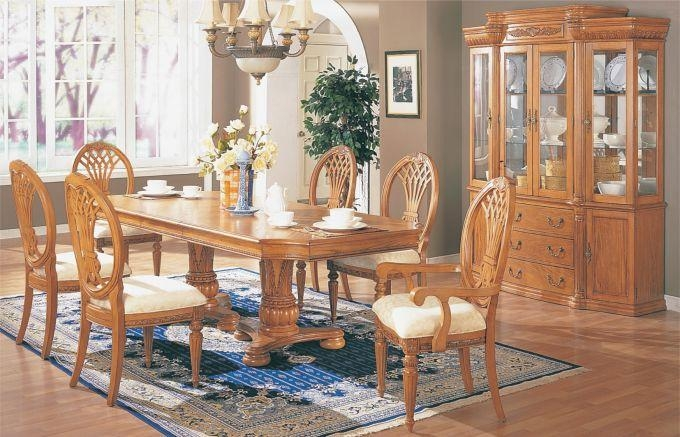 Hardwood Dining Room Table Kansas City's Best Custom Hardwood Within Latest Light Oak Dining Tables And Chairs (View 7 of 20)