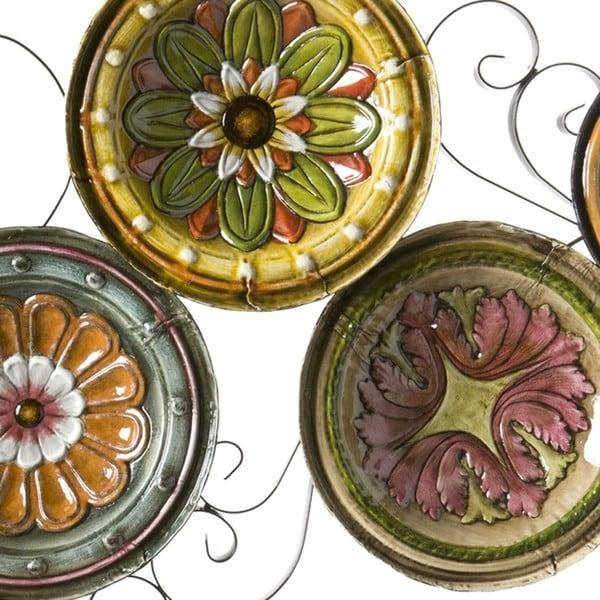 Harper Blvd Forli Scattered 6 Piece Italian Plates Wall Art Set Intended For Italian Plates Wall Art Sets (Image 10 of 20)