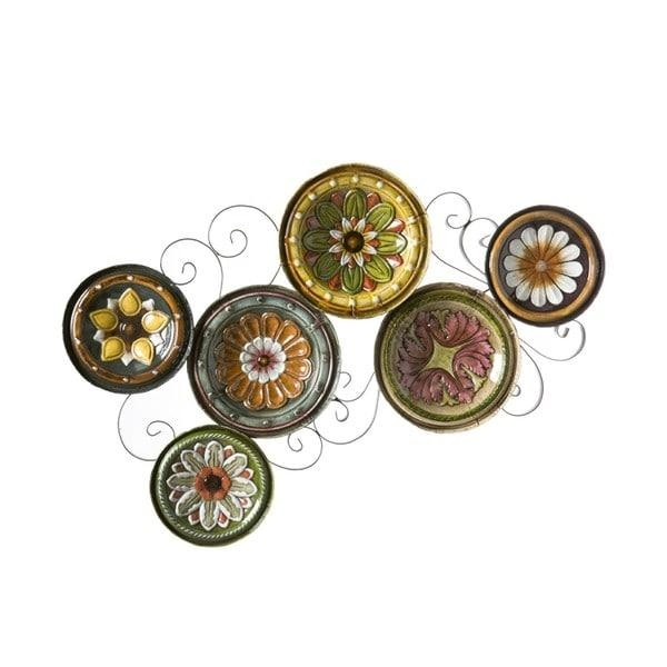 Harper Blvd Forli Scattered 6 Piece Italian Plates Wall Art Set Within Italian Plates Wall Art Sets (Image 12 of 20)