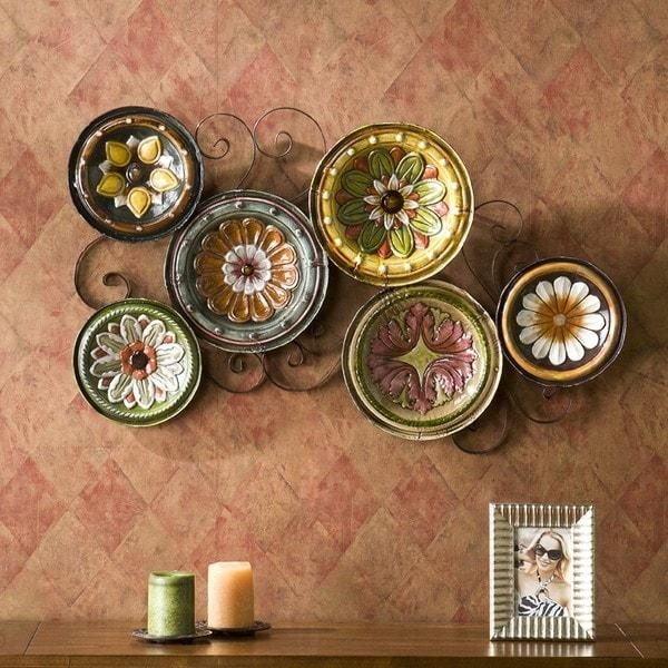 Harper Blvd Forli Scattered 6 Piece Italian Plates Wall Art Set Within Italian Plates Wall Art Sets (Image 11 of 20)