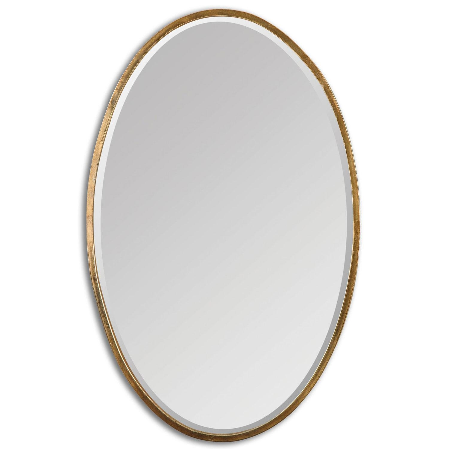 Featured Image of Gold Oval Mirrors