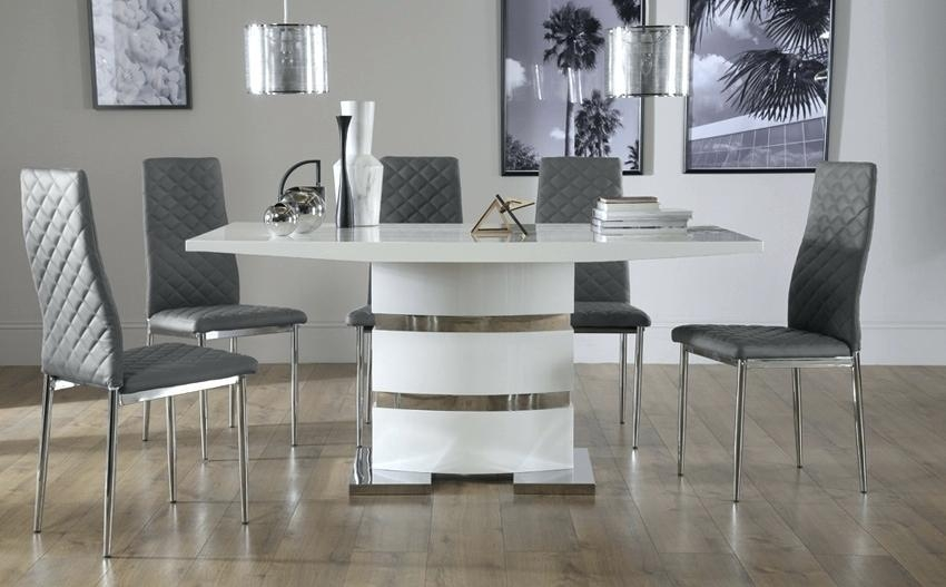 Hi Gloss Dining Table Sets – Zagons (View 17 of 20)