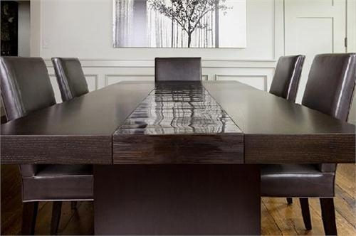 High End Bamboo Dining Table (Image 16 of 20)