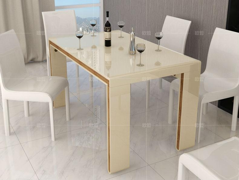 High Gloss Cream Dining Table – Table Designs Within Most Current Cream Gloss Dining Tables And Chairs (Image 12 of 20)