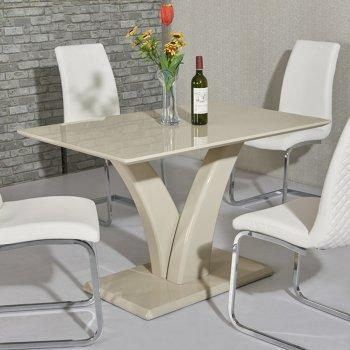High Gloss Dining Tables | Affordable & Unique Dining Tables With Regard To Recent Cream High Gloss Dining Tables (Image 14 of 20)