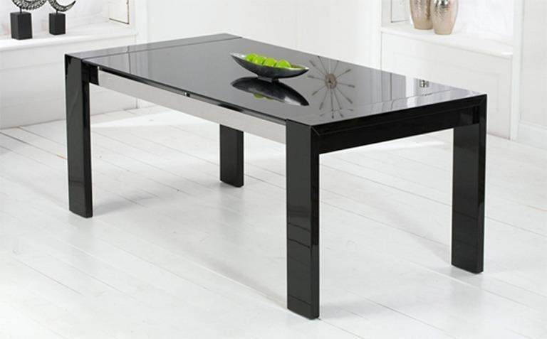 High Gloss Dining Tables | Great Furniture Trading Company | The In Newest Black High Gloss Dining Tables (Image 16 of 20)