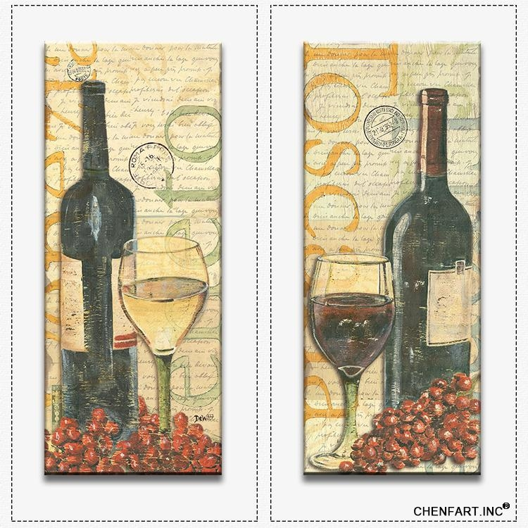 20 Collection of Wine and Grape Wall Art | Wall Art Ideas