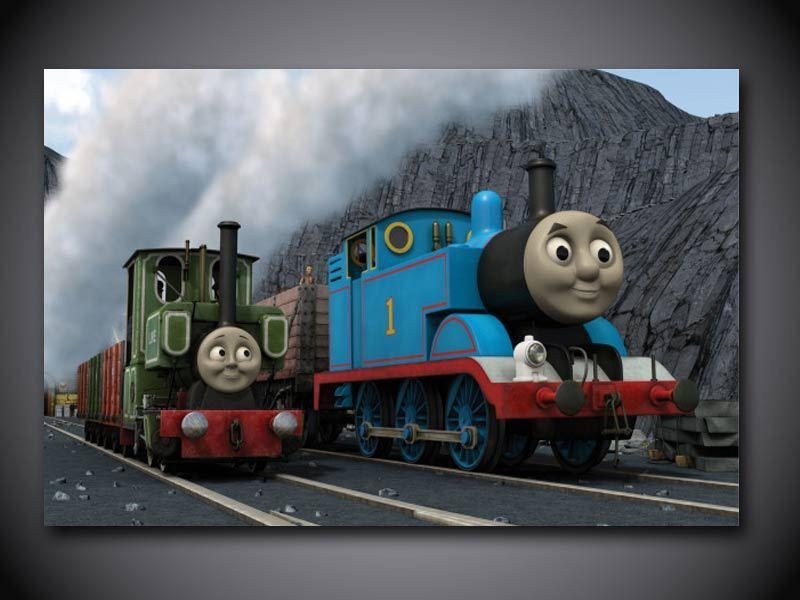 High Quality Thomas Train Decorations Buy Cheap Thomas Train With Thomas The Tank Wall Art (Image 4 of 20)
