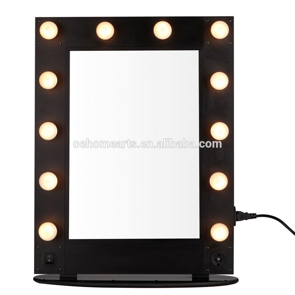 Hollywood Style Hair Salon Equipment Mirror With Led Light – Buy Inside Hairdressing Mirrors For Sale (Image 17 of 20)