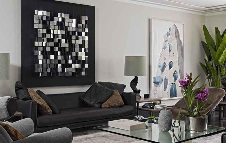 Home Decor With Black Sofas | Centerfieldbar Intended For Black Sofas Decors (View 7 of 20)