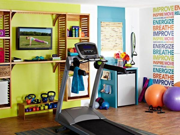 Home Gym Wall Decor – Simple Home Design Ideas – Academiaeb With Wall Art For Home Gym (Image 14 of 20)