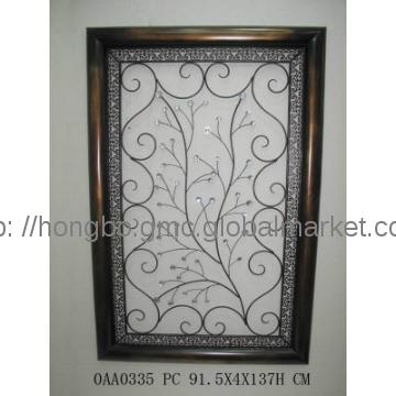 Featured Image of Rectangular Metal Wall Art