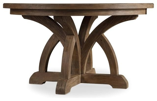 Hooker Furniture Corsica Round Dining Table – Transitional Intended For Latest Round Dining Tables (Image 12 of 20)