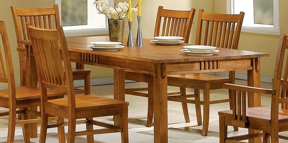 How To Care For A Solid Oak Dining Table – Furniture Wax & Polish With Best And Newest Oak Dining Furniture (Image 13 of 20)