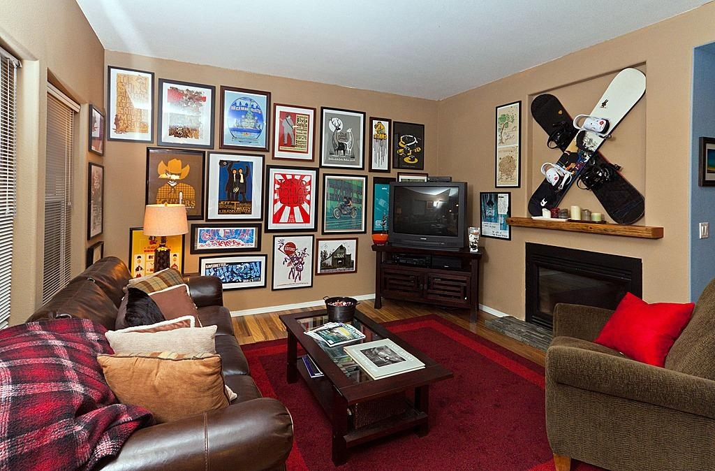 How To Create A Gallery Wall In Your Home Within Wall Art For Game Room (Image 17 of 20)
