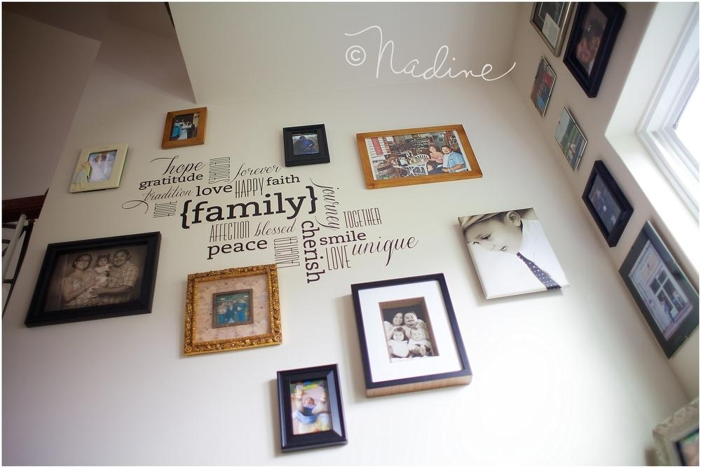 How To Decorate With Your Images {Wall Art Idea #1 – Frame Regarding Family Wall Art Picture Frames (View 8 of 20)