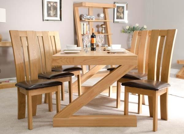 How To Get The Oak Dining Sets? – Pickndecor Intended For Most Popular Oak Furniture Dining Sets (Image 12 of 20)