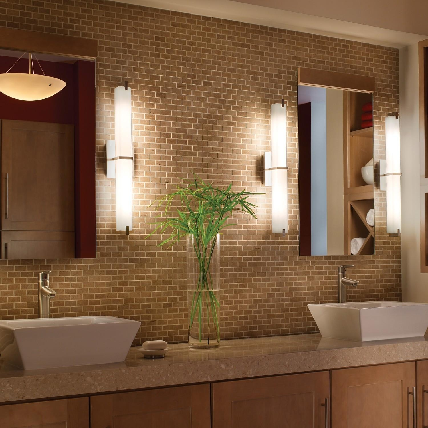 How To Light A Bathroom – Lighting Ideas & Tips | Ylighting Regarding Led Strip Lights For Bathroom Mirrors (Image 13 of 20)