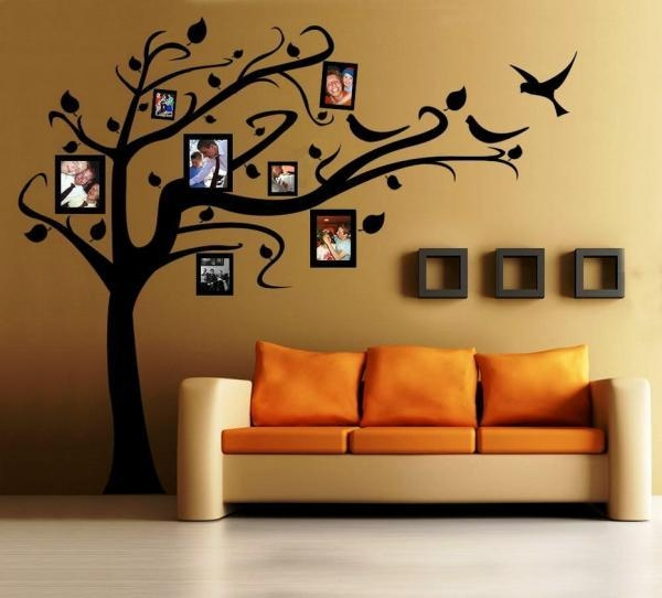 How To Make Stencil Wall Art – 5 Steps (With Images) Pertaining To Stencil Wall Art (Image 10 of 20)