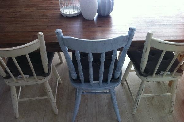 How To Shabby Chic A Dining Table Chair Inside Latest Shabby Chic Dining Chairs (View 15 of 20)