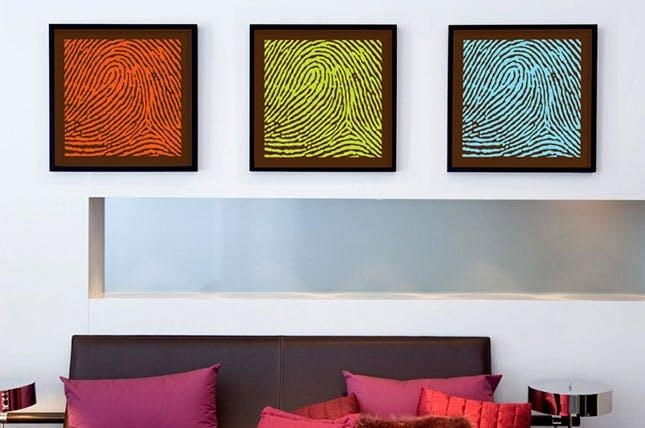 How To Turn Your Dna, Fingerprints + Kisses Into Wall Art | Brit + Co With Dna Wall Art (Image 18 of 20)