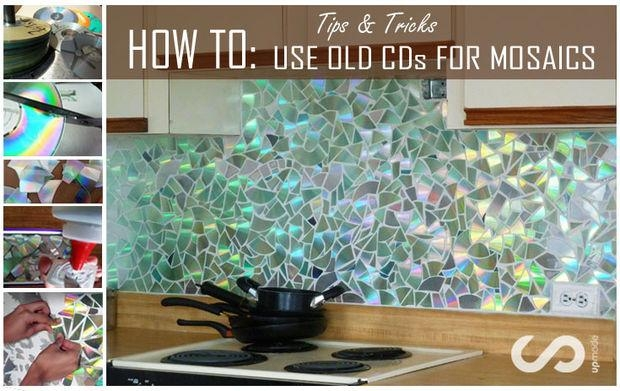 How To: Use Old Cds For Mosaic Craft Projects – Diy Kitchen With Regard To Diy Mosaic Wall Art (View 17 of 20)