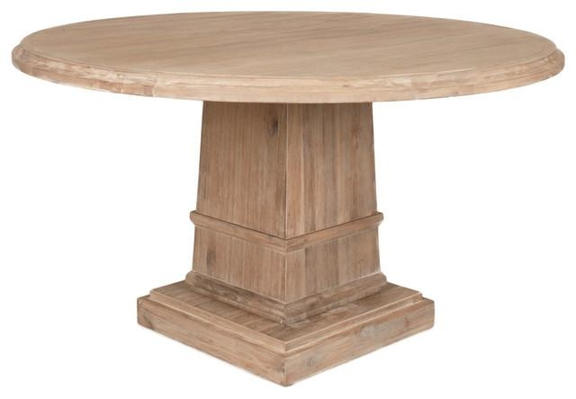 Hudson Round Dining Table – Traditional – Dining Tables – Pertaining To Hudson Round Dining Tables (Image 6 of 20)