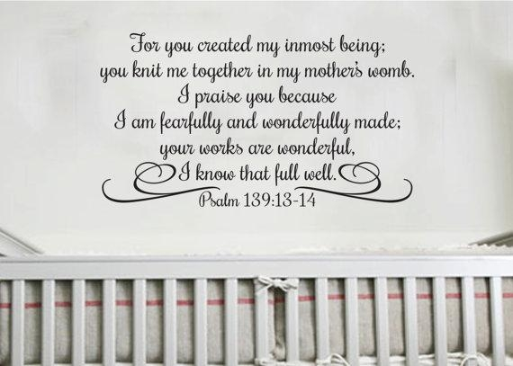 I Praise You Because I Am Fearfully And Wonderfully For Fearfully And Wonderfully Made Wall Art (View 9 of 20)
