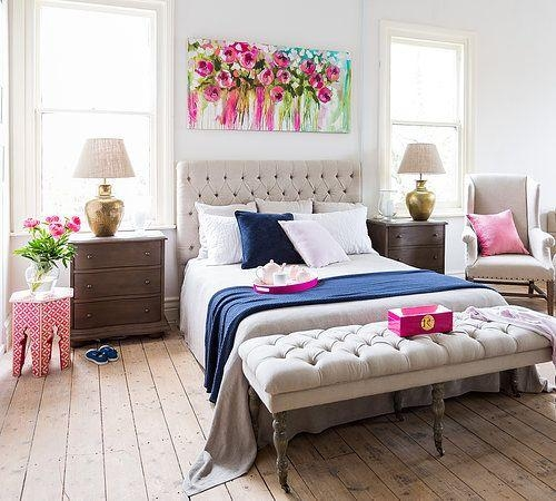 Ideas For Decorating Over The Bed With Wall Art Over Bed (View 4 of 20)