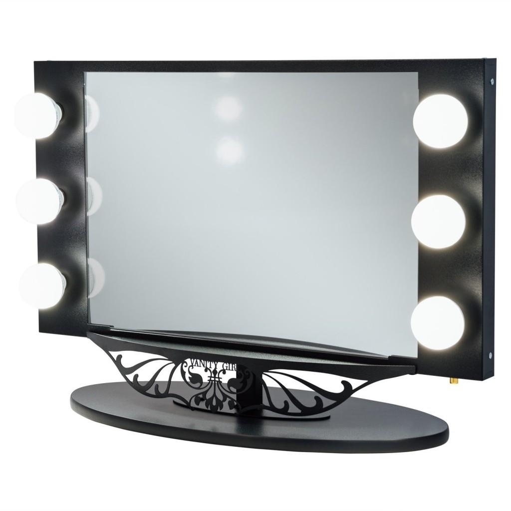 Ideas For Making Your Own Vanity Mirror With Lights (Diy Or Buy) Pertaining To Lit Makeup Mirrors (Image 12 of 20)