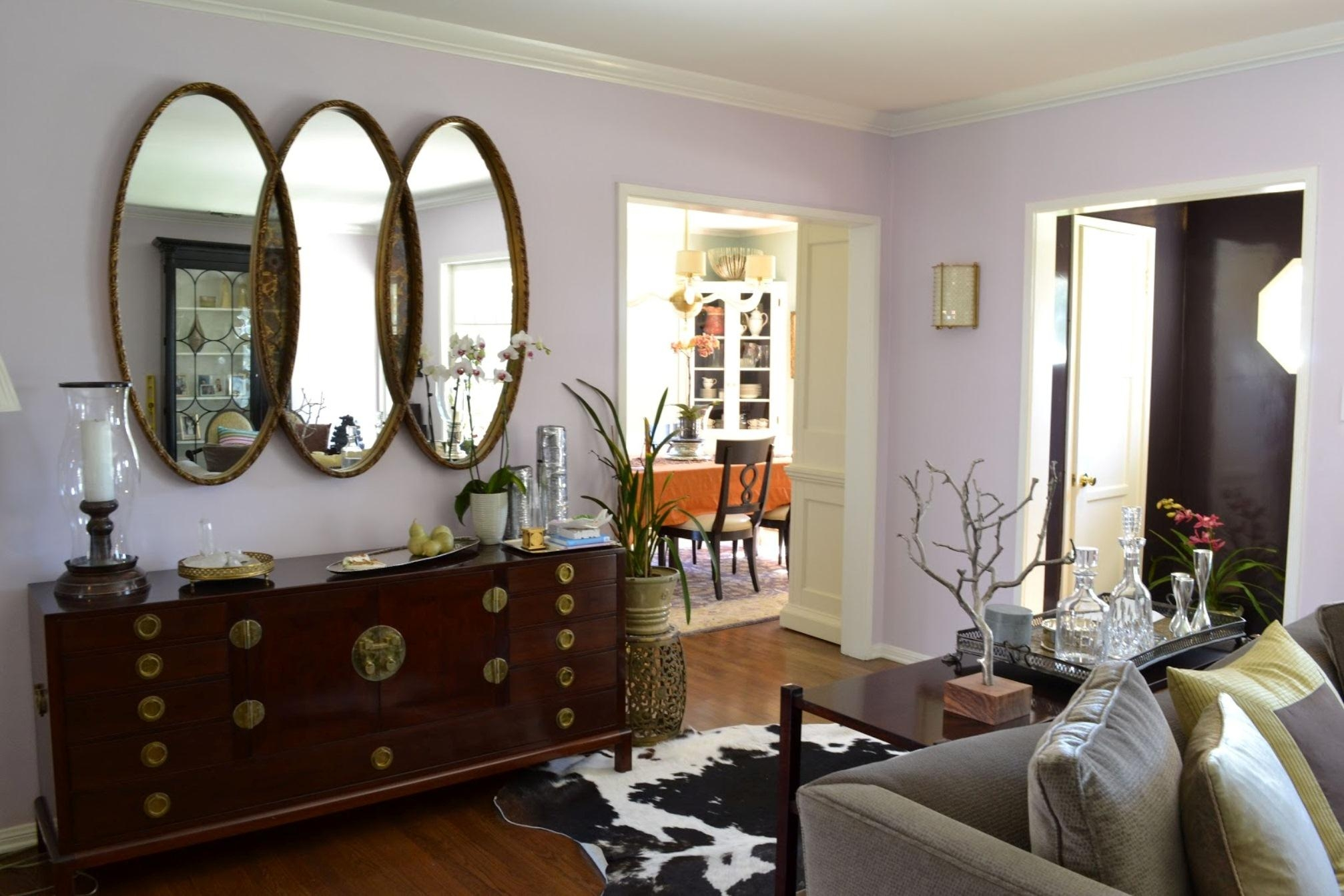 Ideas : Mesmerizing Large Round Mirrors For Living Room New Posts In Modern Living Room Mirrors (Photo 3 of 20)