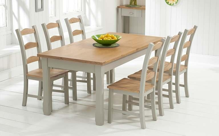Imposing Ideas Painted Dining Table Unthinkable Painted Dining Intended For 2017 Painted Dining Tables (View 12 of 20)