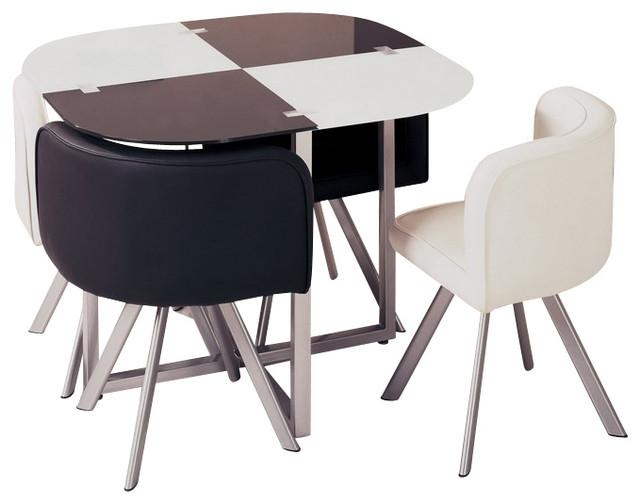 Impressive Compact Dining Table And Chairs And Compact Dining For Compact Dining Sets (Image 15 of 20)
