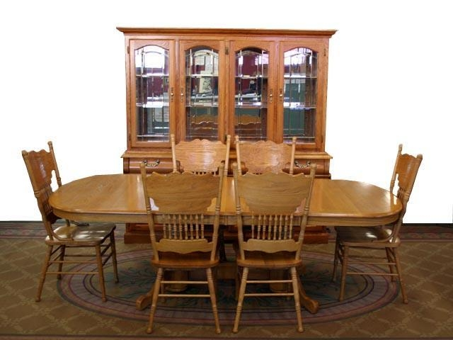 Impressive Design Solid Oak Dining Room Sets Wondrous Inspration With Regard To Most Recent Oval Oak Dining Tables And Chairs (Photo 19 of 20)