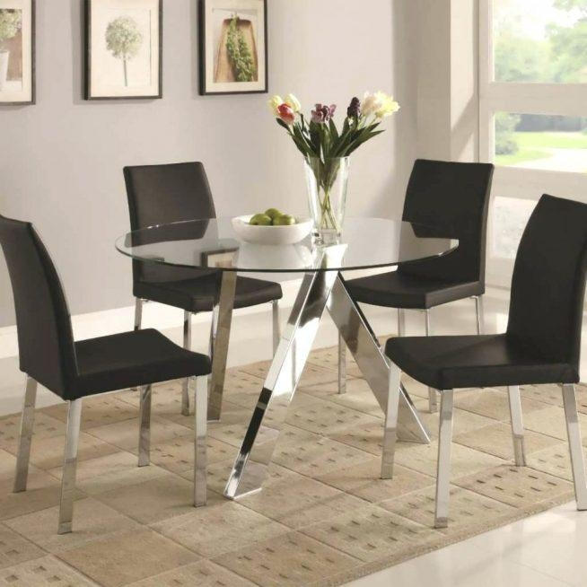 In Large Contemporary Glass Dining Tables Large Contemporary For Recent Modern Dining Suites (Image 12 of 20)