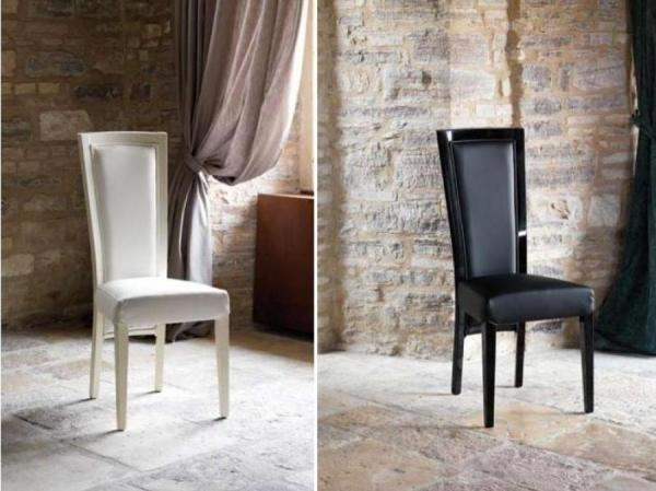 In Stock & Ready To Go With 70% Off – 5 Casabella Firenze Gloss In Newest Black High Gloss Dining Chairs (View 18 of 20)