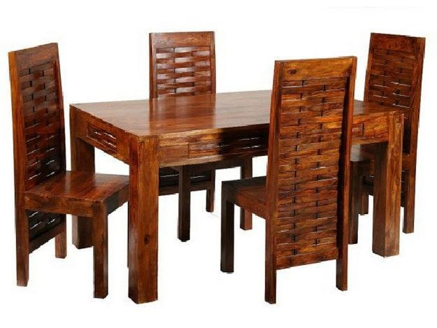 Indian Dining Room Furniture | Dining Room Wooden Furniture Sets Inside Most Up To Date Indian Dining Chairs (Image 9 of 20)