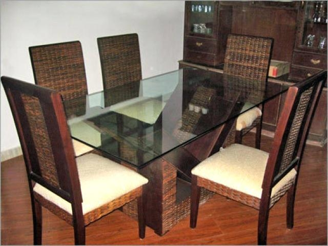 Indian Style Dining Table And Chairs – Zagons (Image 14 of 20)