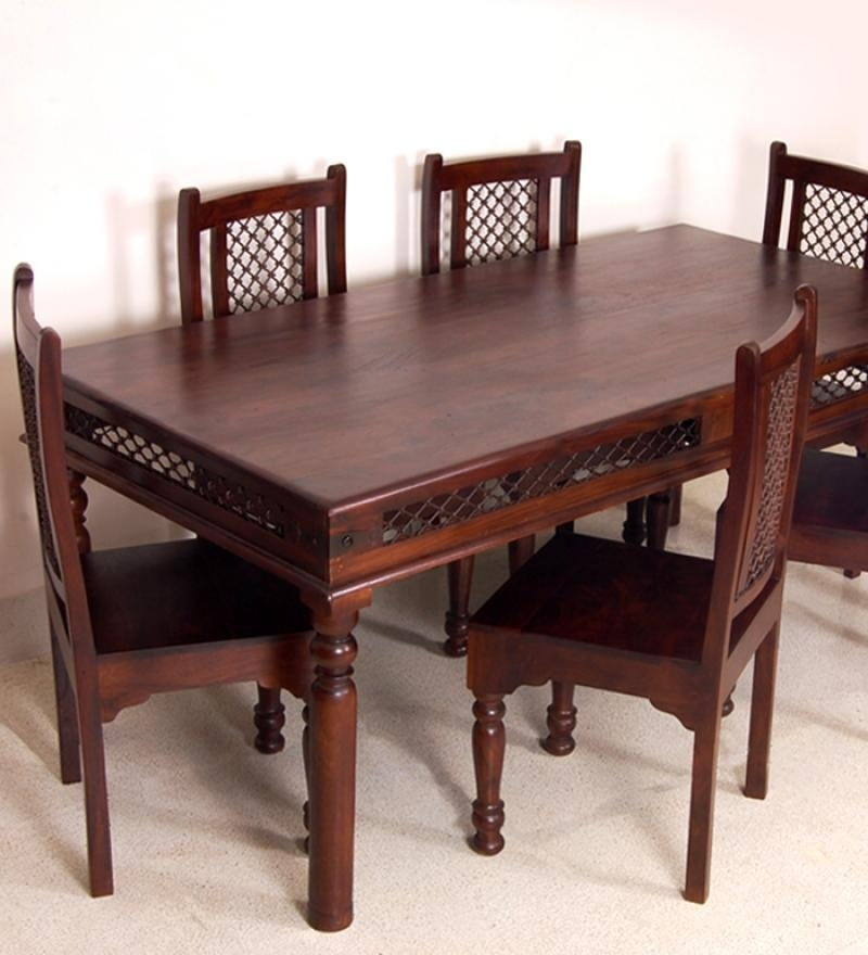 Top 20 indian wood dining tables dining room ideas for Innovative dining table designs