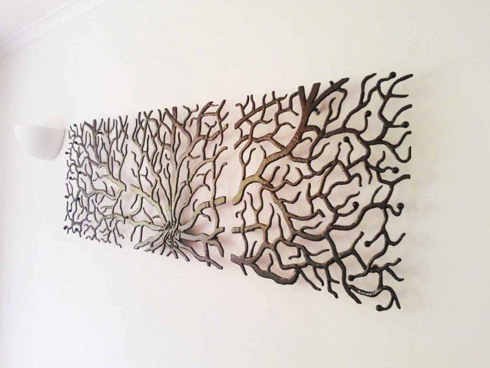 Innovative Large Metal Tree Wall Decoration 128 Oak Tree Large Within Oak Tree Large Metal Wall Art (Image 9 of 20)