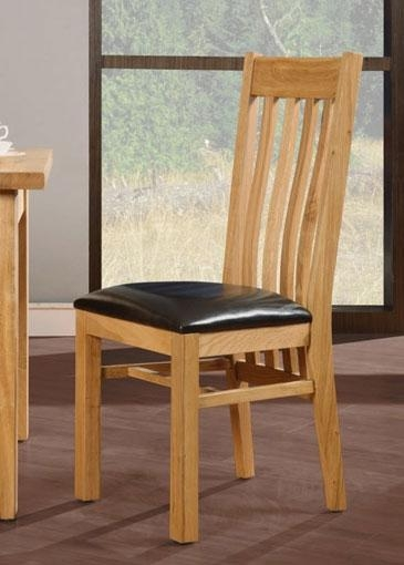 Inspirational Design Oak Dining Chairs Oak Dining Chairs | Living Room With Regard To Most Recently Released Oak Leather Dining Chairs (Image 12 of 20)