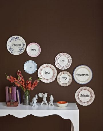 Inspire Bohemia: Beautiful Wall Decor And Art: Plates: Part I Pertaining To Decorative Plates For Wall Art (Image 16 of 20)